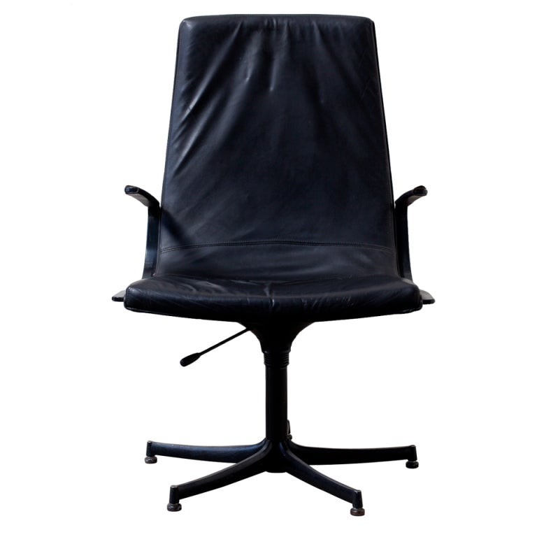walter knoll executive office chair at 1stdibs