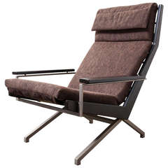 Robert Parry Lounge Chair with Ebony Stained Arm Rests