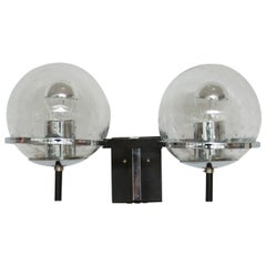 Pair of RAAK Double Globe Wall Lights