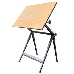 """Wm. Rietveld and Friso Kramer """"Reply"""" Drafting Table"""