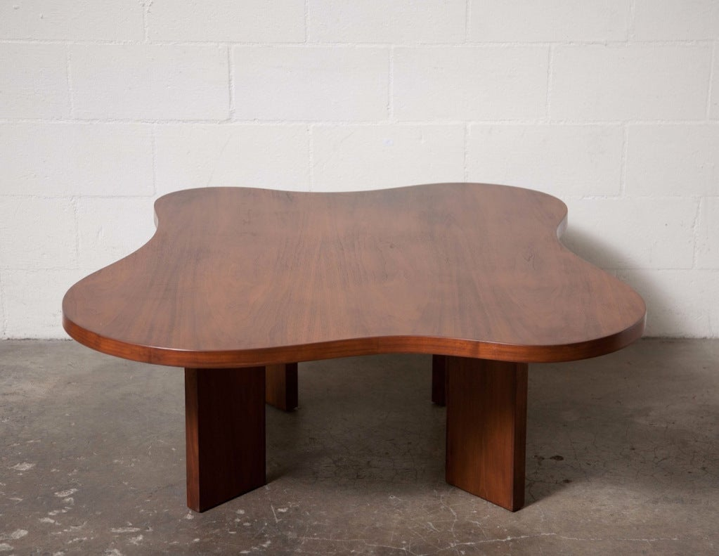 Biomorphic Coffee Table Edward Ficket Biomorphic Coffee Table At 1stdibs