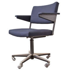Gispen Rolling Office Chair by A.R. Cordemeijer