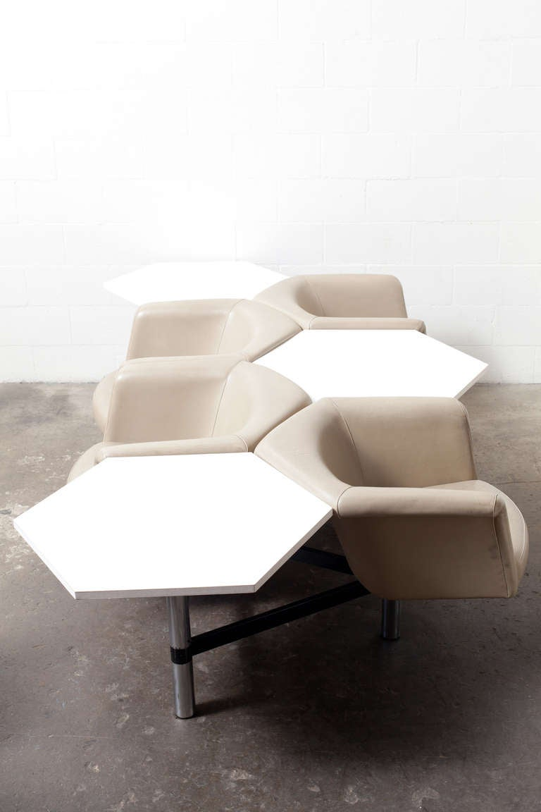 Geoffrey Harcourt For Artifort Hexagon Seating System At