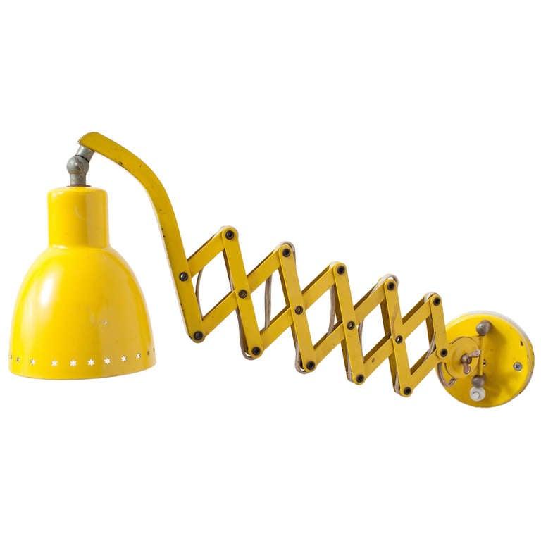 Wall Mount Accordion Lamp : Hala Zeist Accordion Wall Lamp at 1stdibs