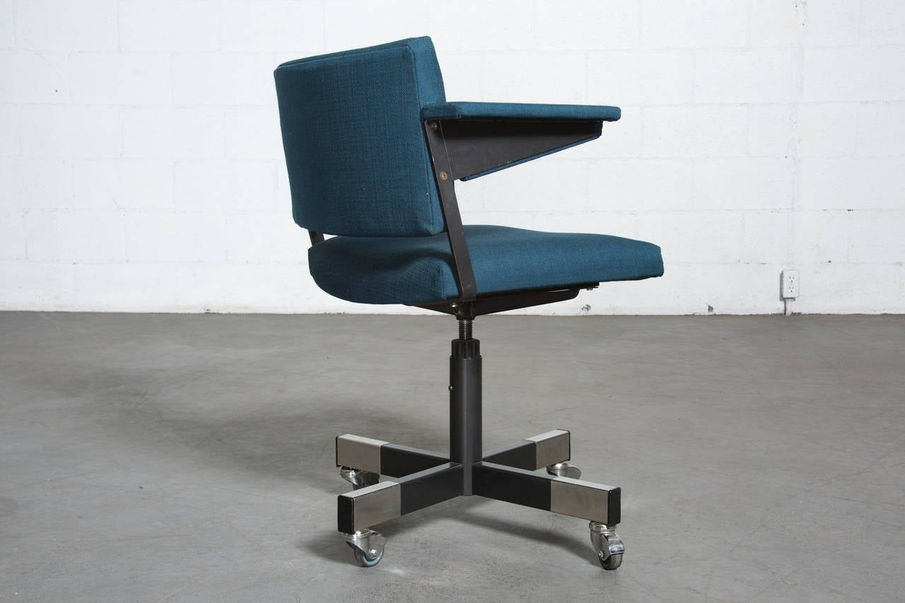 A R Cordemeijer For Gispen Rolling Office Chair At 1stdibs