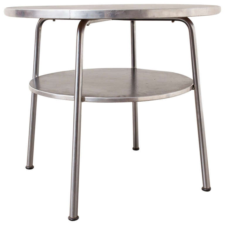 Gispen 503 Industrial Side Table At 1stdibs