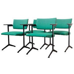 Friso Kramer Style Arm Chair by Auping