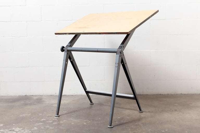 "Wm. Rietveld + Friso Kramer ""REPLY"" Drafting Table 3"
