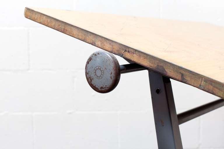 "Wm. Rietveld + Friso Kramer ""REPLY"" Drafting Table 7"