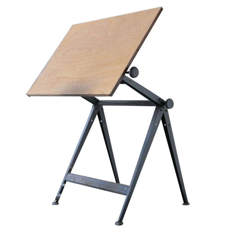 "Wm. Rietveld + Friso Kramer ""REPLY"" Drafting Table 1"