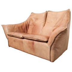 "Gerard van den Berg ""Denver"" Leather Two-Seater Sofa"