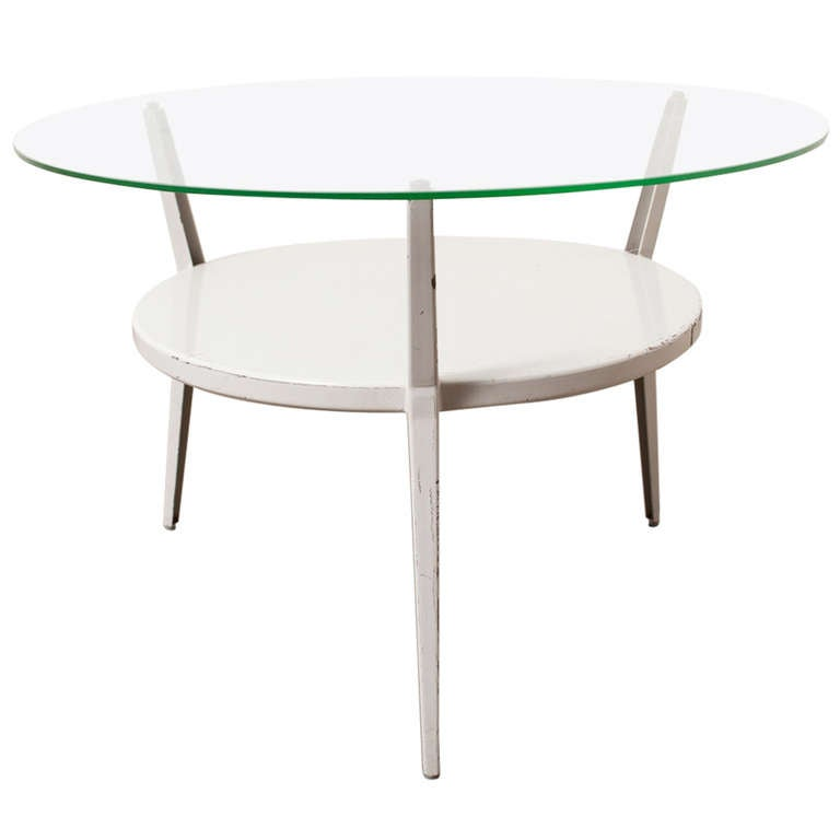 Friso Kramer, Rotunda Round Coffee Table For Sale At 1stdibs