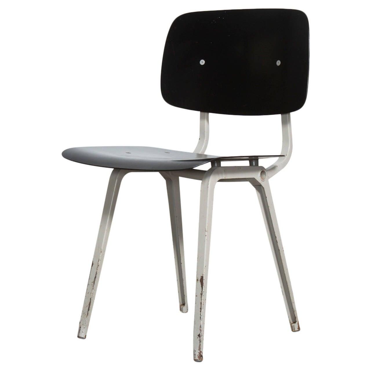 """Friso Kramer """"Revolt"""" Chair in Black For Sale"""