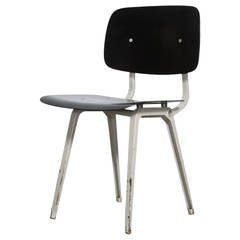 "Friso Kramer ""Revolt"" Chair in Black"