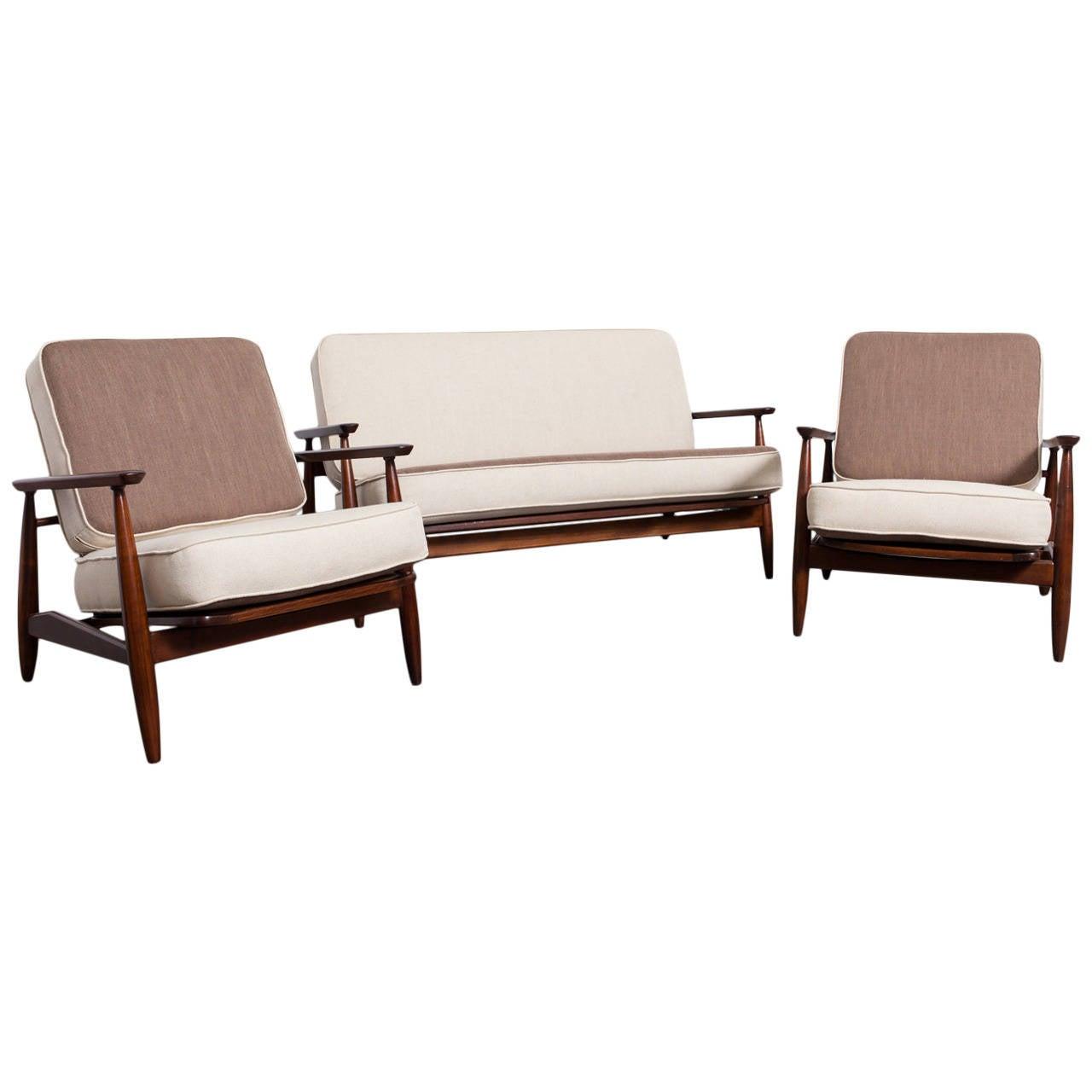 Dutch Modernist Stick Sofa Set At 1stdibs
