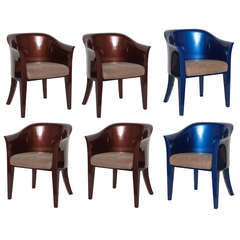 JMF Armchairs by Karl Springer