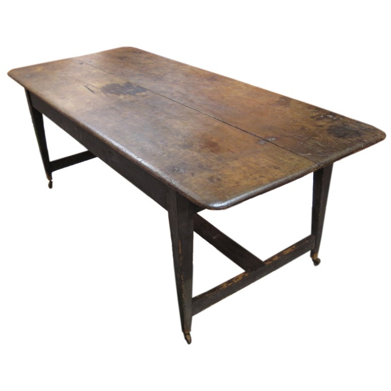 Large American Farm Table