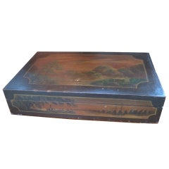 Rare Painted Display Box