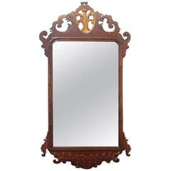 18th Century English Mahogany Mirror