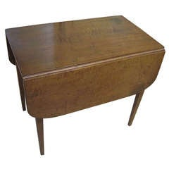 Cherry Hepplewhite Drop-Leaf Table