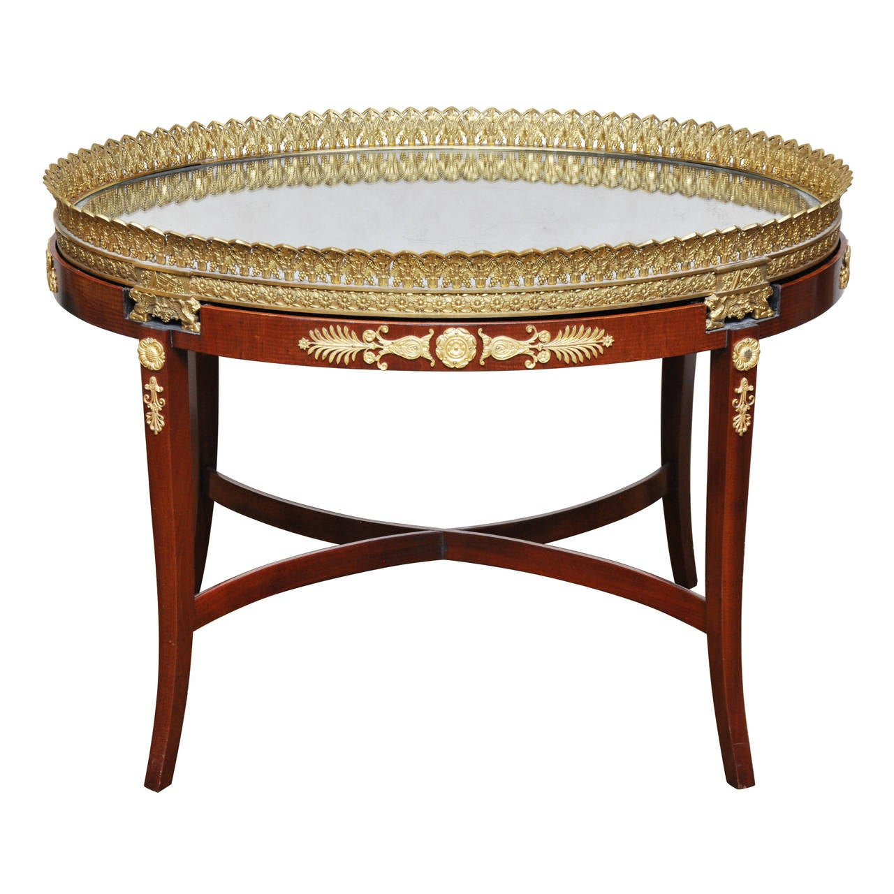 French empire plateau coffee table for sale at 1stdibs for Plateau table