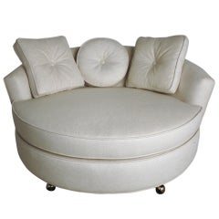 Oversized Round Lounge Chair