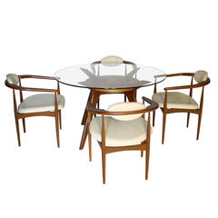 Adrian Pearsall for Craft Associates Dining Set
