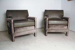 John Widdicomb Lounge Upholstered Armchairs