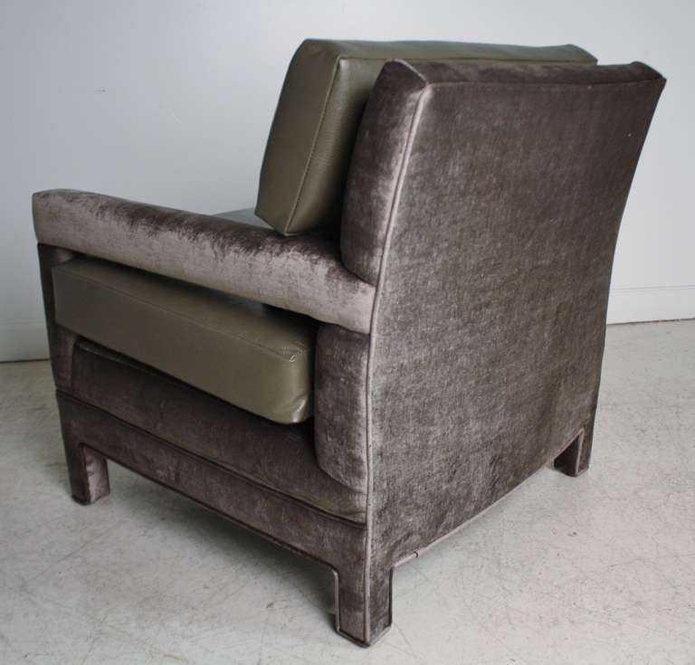 John Widdicomb Lounge Upholstered Arm Chairs 8