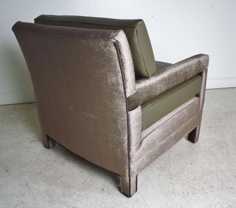 John Widdicomb Lounge Upholstered Arm Chairs 9