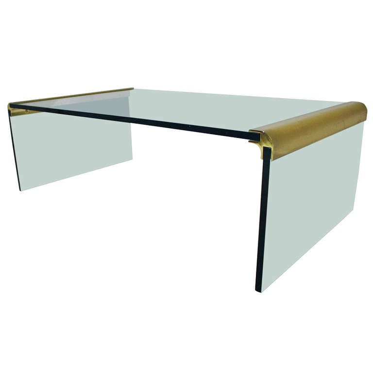 Pace Collection Waterfall Cocktail Table At 1stdibs