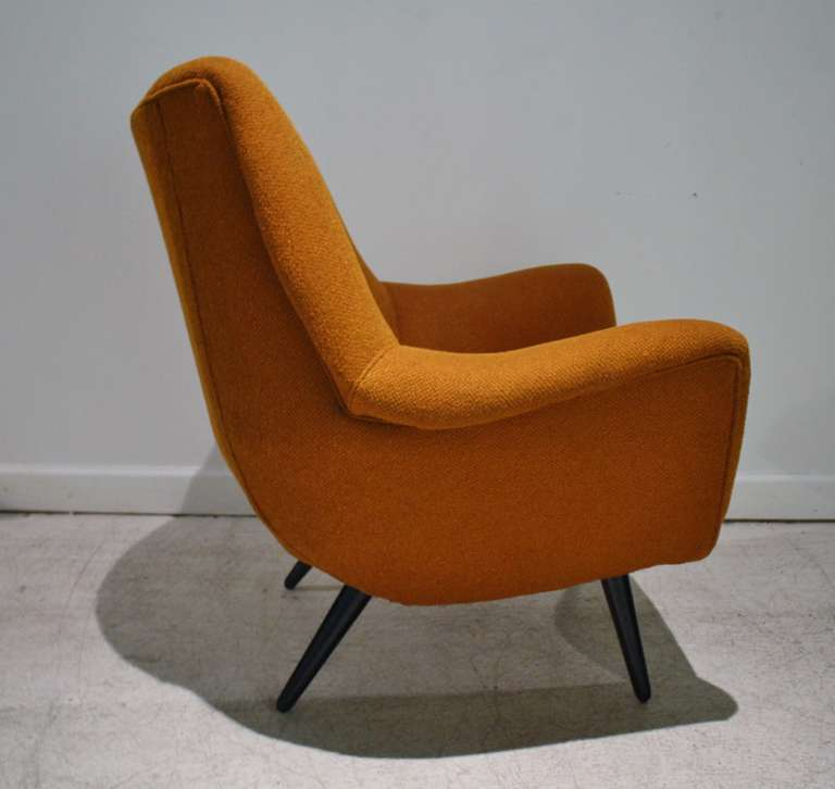 Lawrence Peabody Selig Lounge Chair at 1stdibs