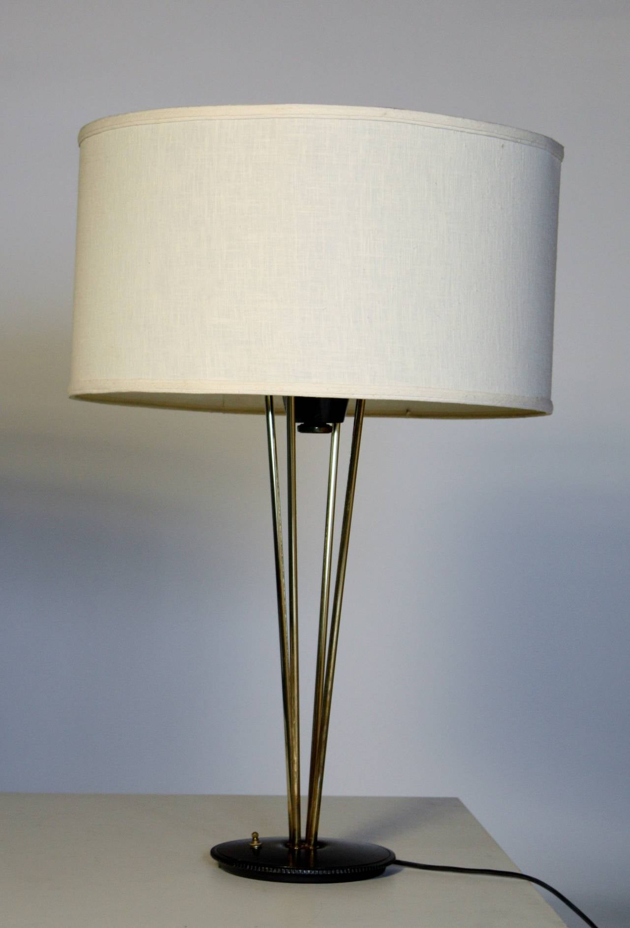 Mid-Century Modern Gerald Thurston Stiffel Lamps For Sale