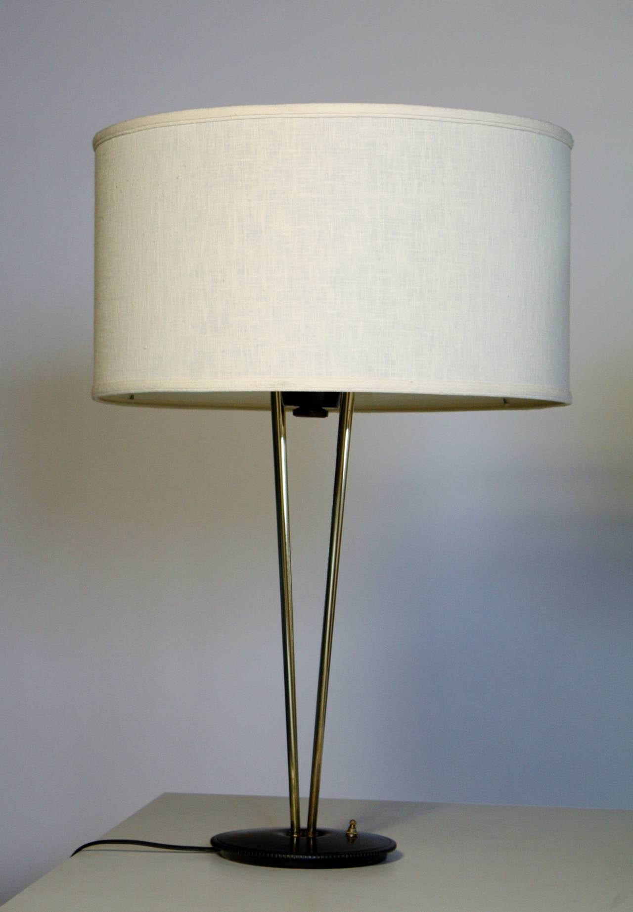 Gerald Thurston Stiffel Lamps In Excellent Condition For Sale In Chicago, IL