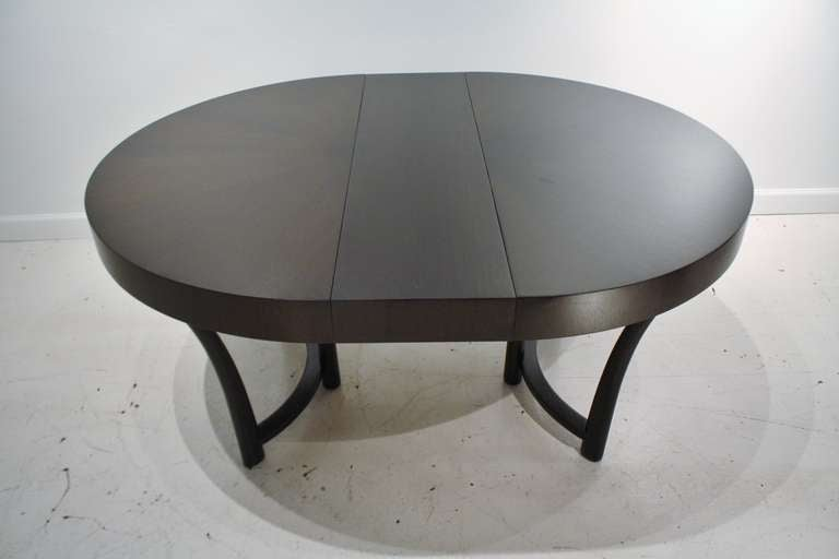 T.H, Robsjohn Gibbings Expandable Round Dining Table 7