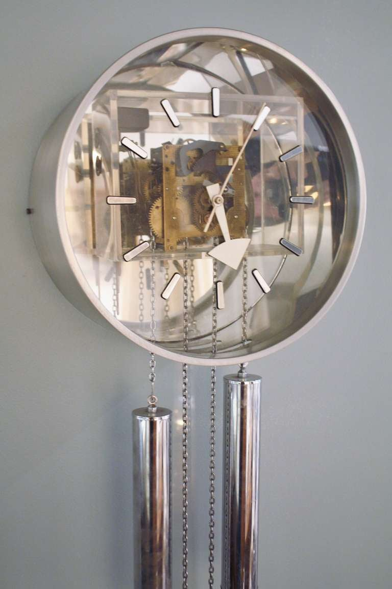 American George Nelson Howard Miller Clock For Sale
