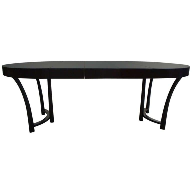 robsjohn gibbings expandable round dining table at 1stdibs