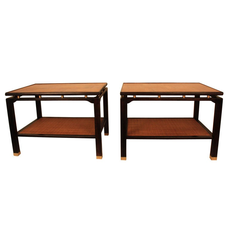 Sligh Lowry Furniture Co. End Tables 1