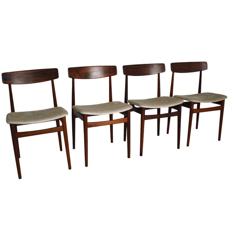 this danish modern rosewood dining chairs is no longer available