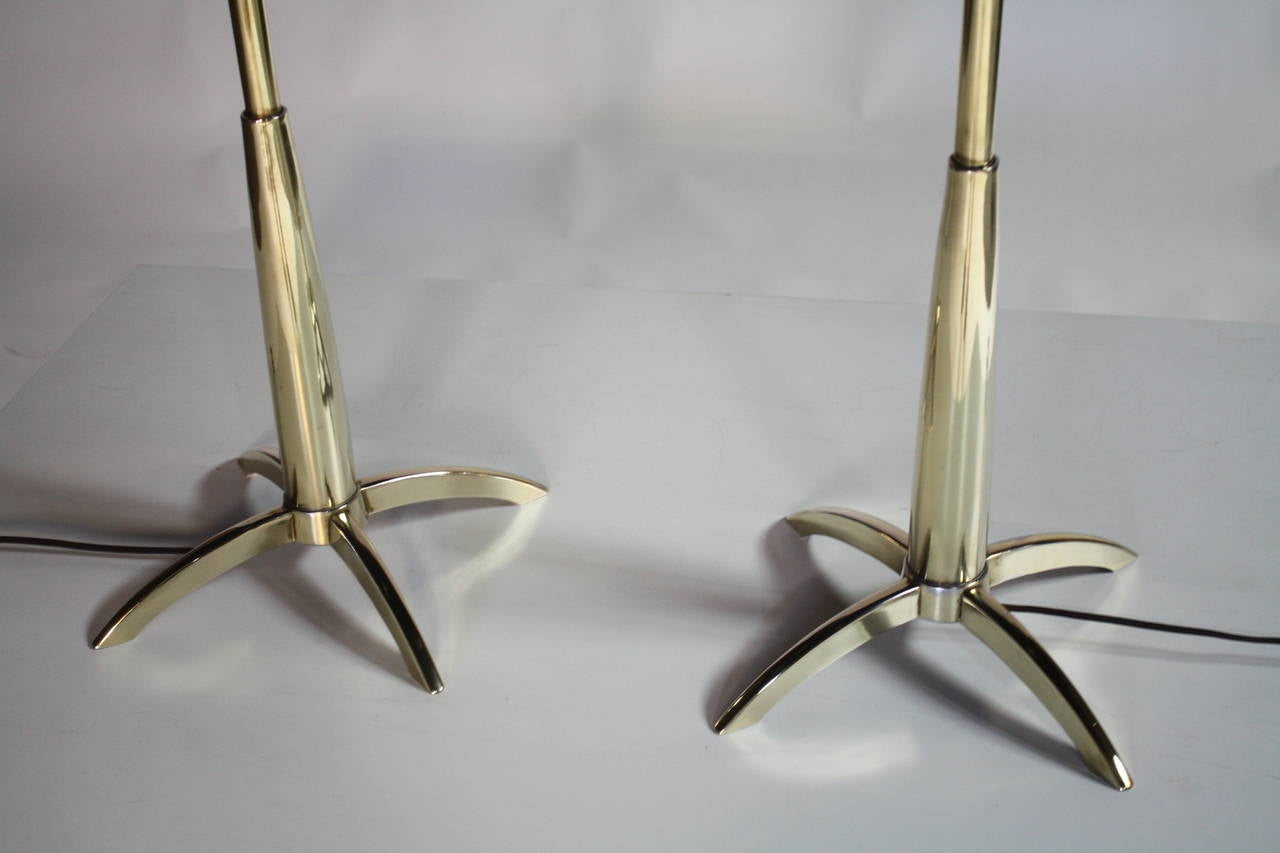 Stiffel Rocket Lamps In Excellent Condition For Sale In Chicago, IL