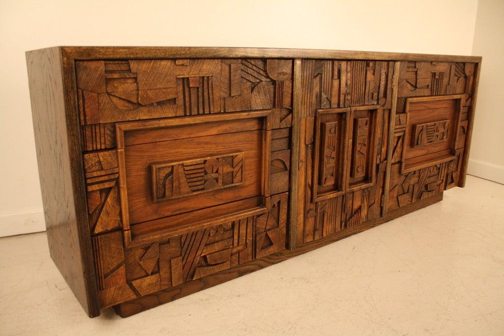 Lane Brutalist Dresser 2