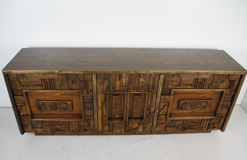Lane Brutalist Dresser 4