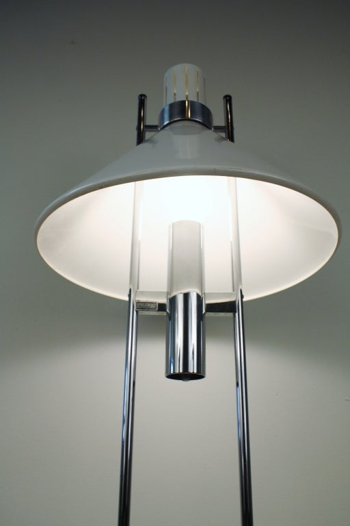 1970s Robert Sonneman Table Lamp At 1stdibs