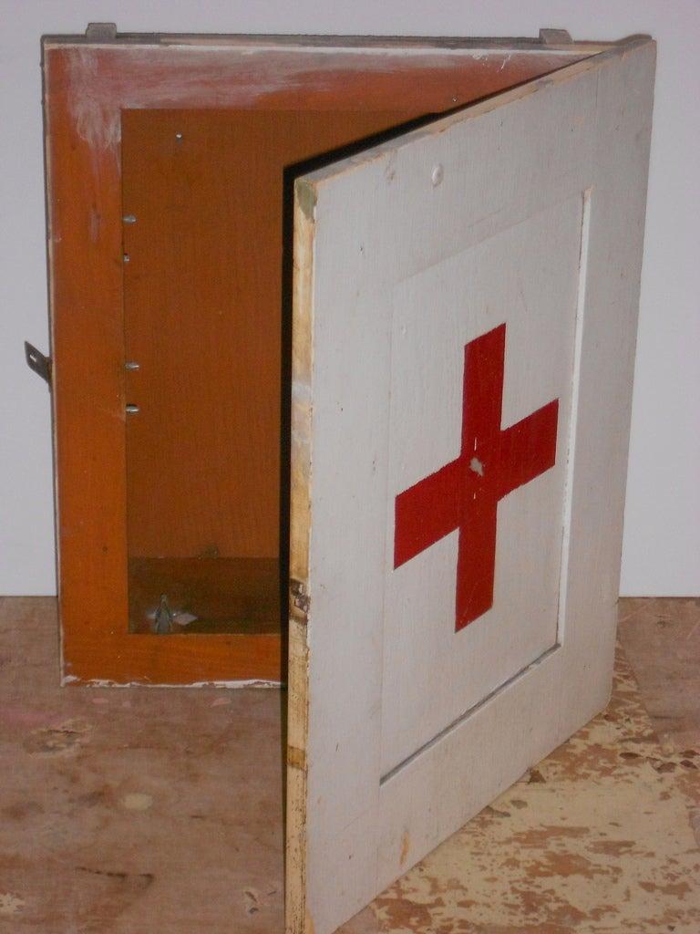 Ww Ii Era Medical Cabinet At 1stdibs