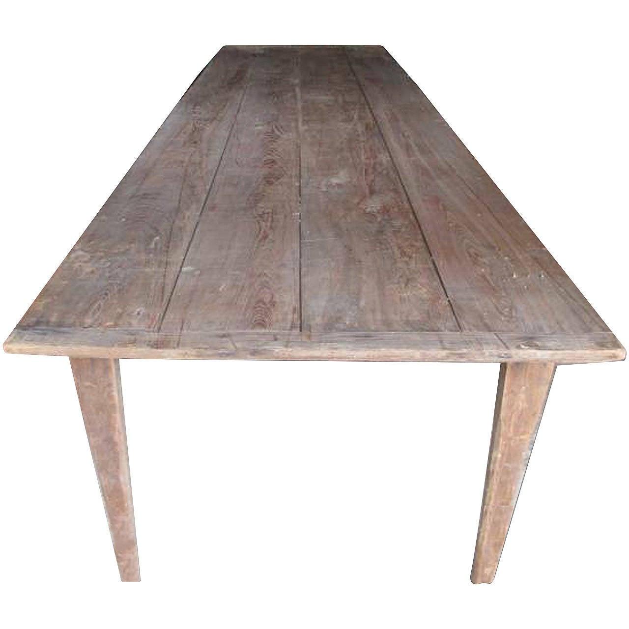 Antique Folding Harvest Table 10 Ft Length At 1stdibs
