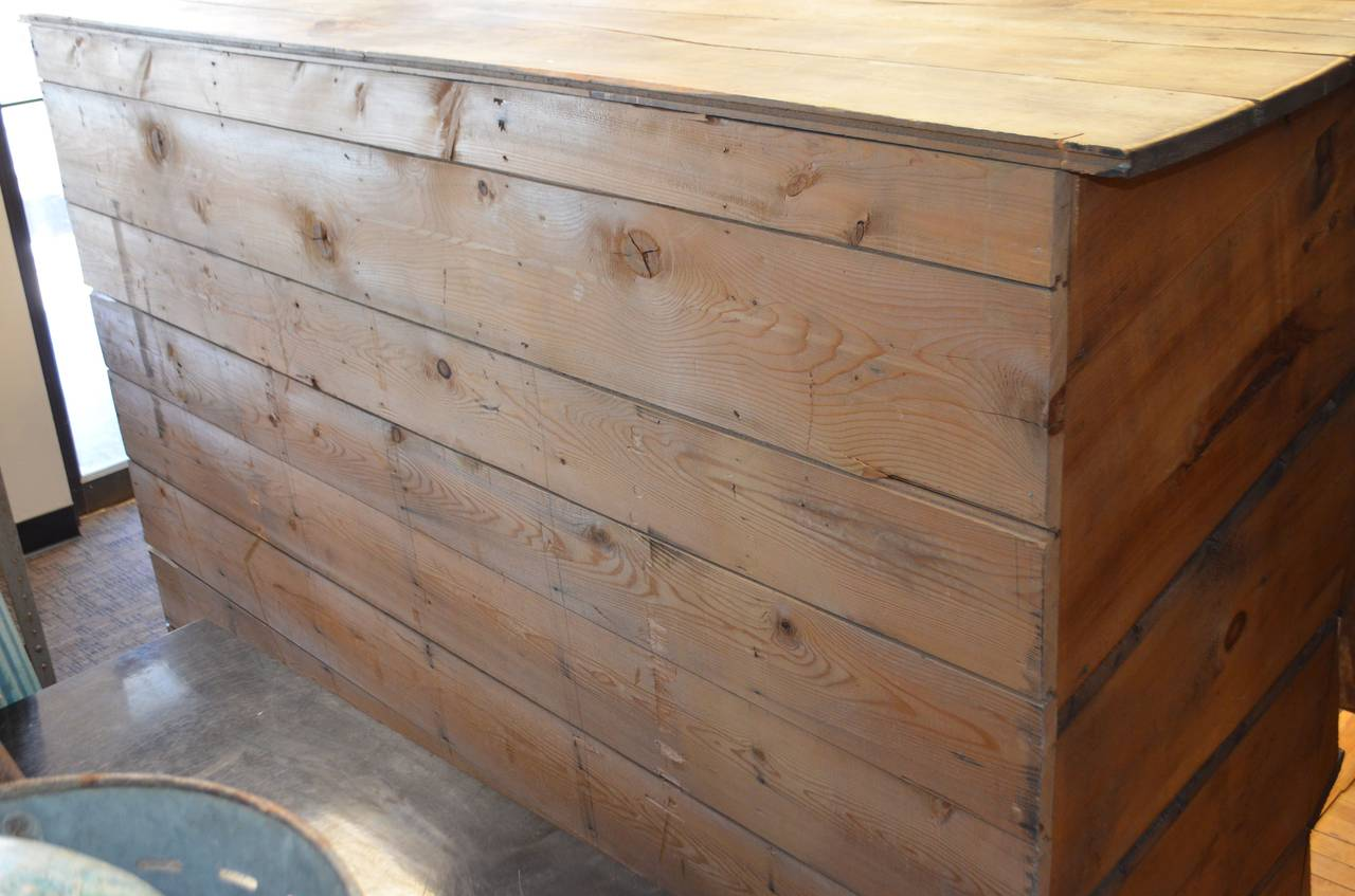 Storage Shelving Unit of Wood was Once Chicken Nesting Box For Sale 2