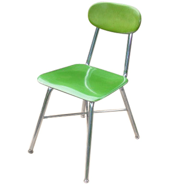 Mid-Century Industrial Chairs (8 available) For Sale