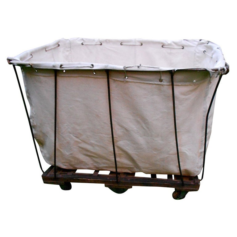 Image Result For Commercial Laundry Cart On Wheels