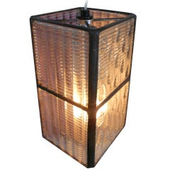 Luxfer Tile Pendant Light