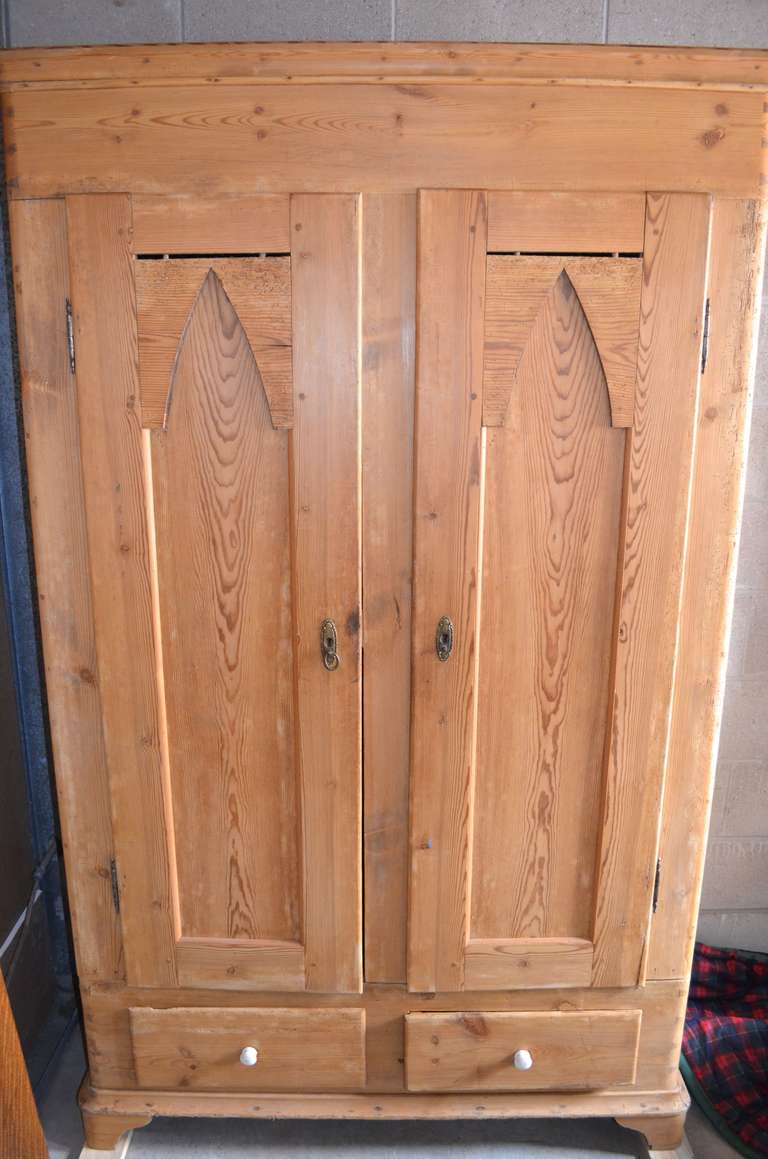 Scandinavian pine armoire at 1stdibs for Armoire sejour